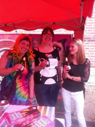 Anja, Denise, Anke